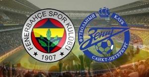 Fenerbahçe Zenit maçı canlı yayın...