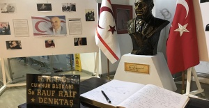 KKTC'nin Kurucu Cumhurbaşkanı Rauf Raif...