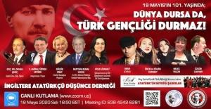 İADD19 Mayıs Atatürkü Anma, Gençlik...