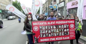 Britanya Alevi Federasyonu veİngiltere Alevi Kültür Merkezi ve Cemevi:Sivas'lar olmasın, Bir daha asla
