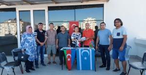 Irak Türklerinden Antalya Azerbaycan Kültür ve Dayanışma Derneği'ne destek ziyareti