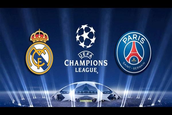 PSG-Real Madrid Şampiyonlar Ligi maçı...