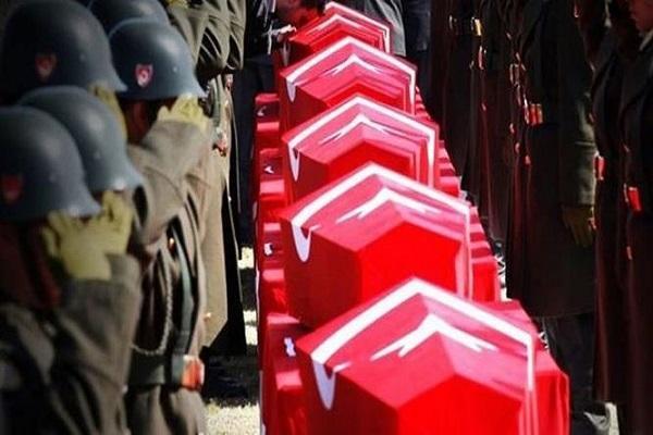 Afrin'de şehit düşen askerlerin isimleri açıklandı