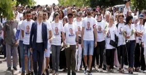 Binlerce kişi Engin Güneş için yürüdü