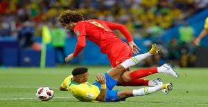 Brezilya'yı mağlup eden Belçika yarı finalde