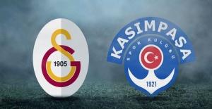 Galatasaray- Kasımpaşa maçı canlı yayın bilgileri