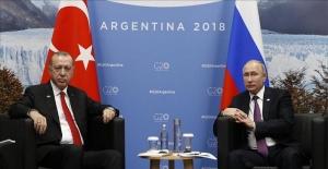Rus lider Putin 'Türkiye ile iş birliğimizde çok önemli ilerlemeler kaydediyoruz'