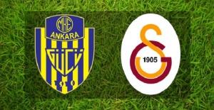 Galatasaray MKE Ankaragücü maçı canlı yayın bilgileri