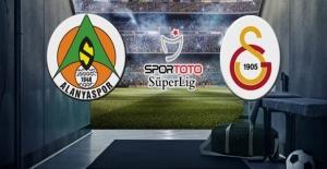 Alanyaspor Galatasaray maçı canlı yayın bilgileri