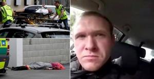 Yeni Zelanda saldırganının yakalanma anı kameralarda