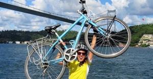 Londra'dan İstanbul'a 89 gün süren bisiklet yolculuğu