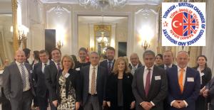 Büyükelçilikte Türk İngiliz Ticaret ve Sanayi Odası üyeleri buluştu