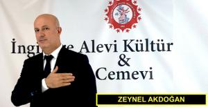 Zeynel Akdoğan, İngiltere Alevi Kültür Merkezi ve Cemevi Başkan Adayı