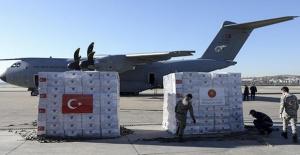 Türkiye'den ABD'ye tıbbi yardım götüren ikinci uçak Ankara'dan hareket etti