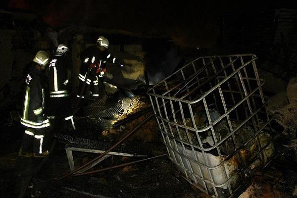 Gaziantep'te çıkan yangında 7 kişilik aile can verdi