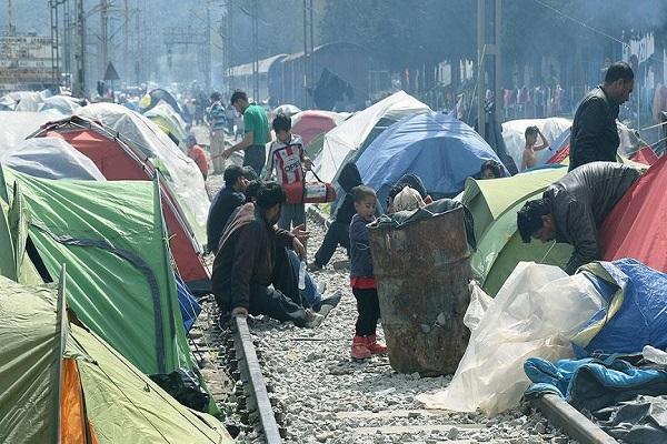 Makedonya sınırındaki İdomeni sığınmacı kampı boşaltılacak