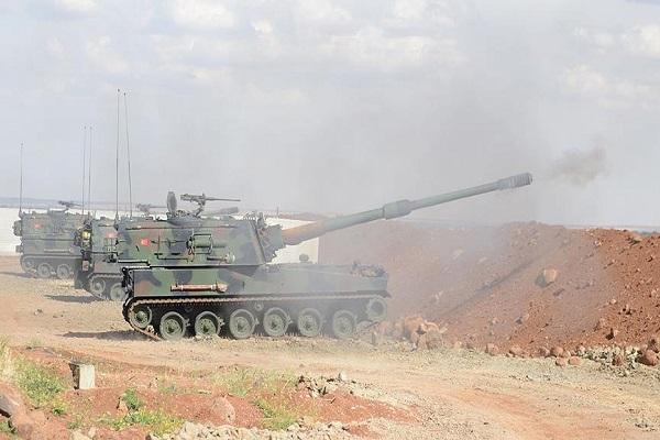 Fırat Kalkanı Harekatında IŞİD ve PKK'ya ait hedefler imha edildi