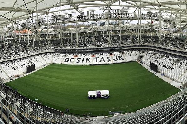 Vodafone Arena'nın açılışı için geri sayım başladı