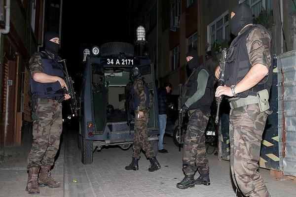 İstanbul'da 1 Mayıs öncesi terör operasyonu yapıldı