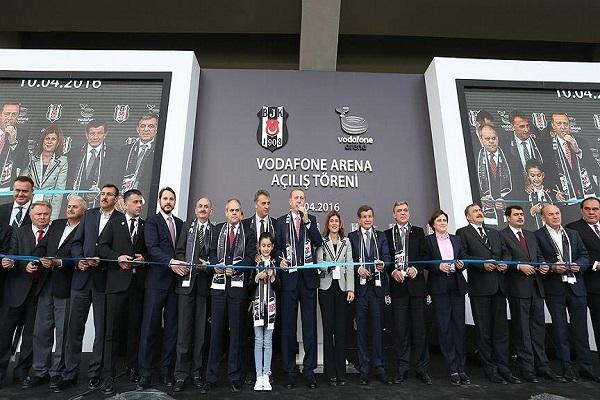Vodafone Arena'nın protokol açılışı gerçekleştirildi