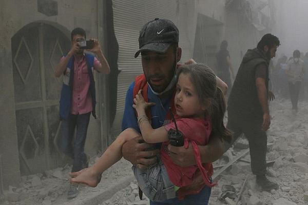 Suriye ordusu Halep'teki Tıp merkezine saldırı düzenledi