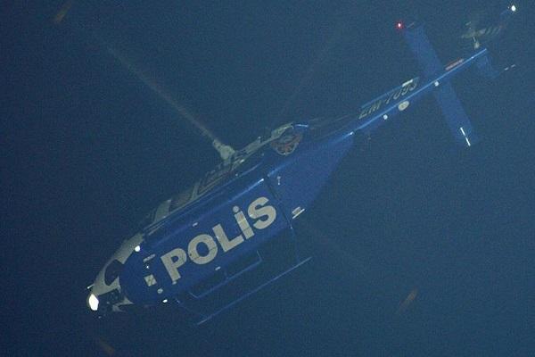 Sultangazi'de terör örgütüne helikopter destekli operasyon