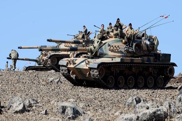 TSK sınırda askeri önlem alıyor