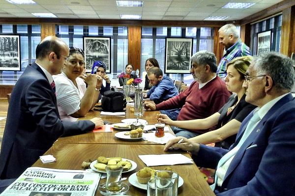 Türk Yerel Medyası Londra Yunus Emre Enstitüsü'nde ağırlandı