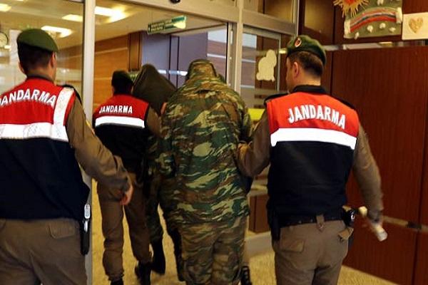 Tutuklanan 2 Yunan asker İngiliz basınında