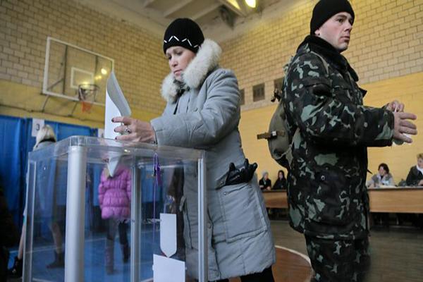 Ukrayna'da seçim günü