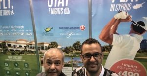 Cyprus Paradise ve Korineum Golf Resort Glasgow Golf Show'da