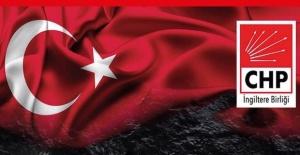 CHP'den Londra'ya Cumhuriyet Bayramı şöleni