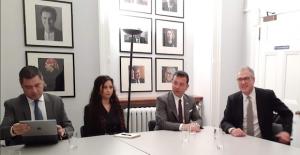 İstanbul Büyükşehir Belediye Başkanı Ekrem İmamoğlu, Londra'da