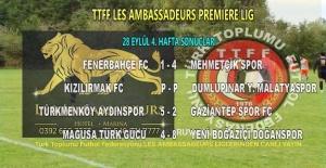 İngiltere Türk Toplumu Futbol Federasyonu liglerİ maç sonuçları ve puan durumu