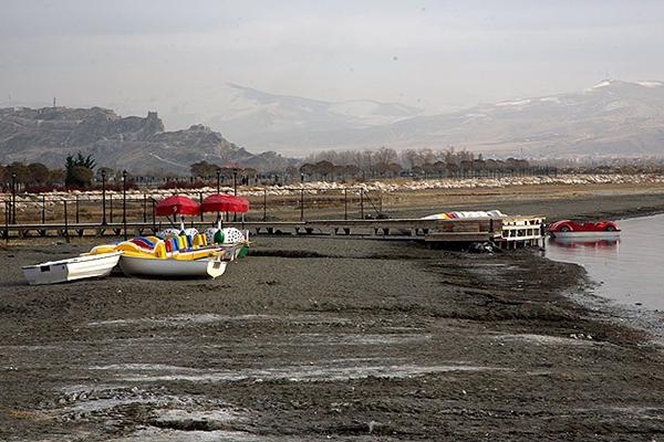 Van Gölü'nde büyük su kaybı
