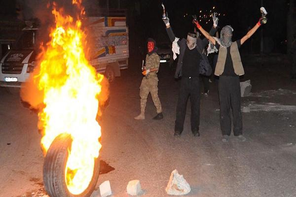 Şanlıurfa'da Kobani eylemlerinde 40 gözaltı