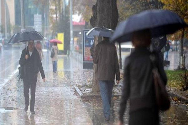 Havalar soğuyacak sağanak yağış kapıda