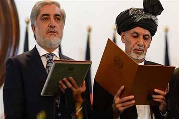 Afganistan'da saldırıların altında yemin töreni