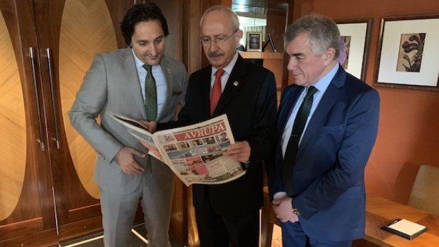 Kemal Kılıçdaroğlu, Avrupa Ajansı'na Londra'da Kaşıkçı konusunu anlattı