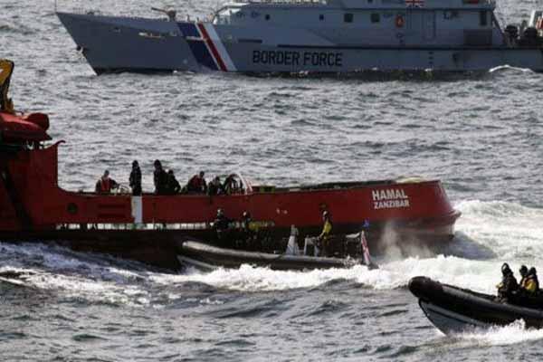Kuzey Denizi'ne yapılan uyuşturucu operasyonunda 9 Türk yakalandı
