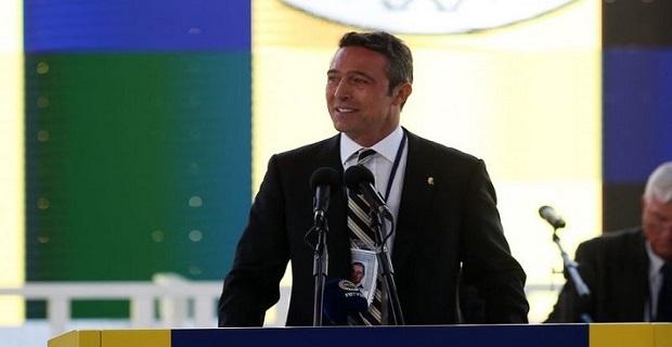 Fenerbahçe'nin yeni başkanı Ali Koç'un zafer konuşması