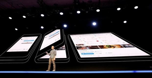 İşte Samsung'un katlanabilir ekranlı telefonu