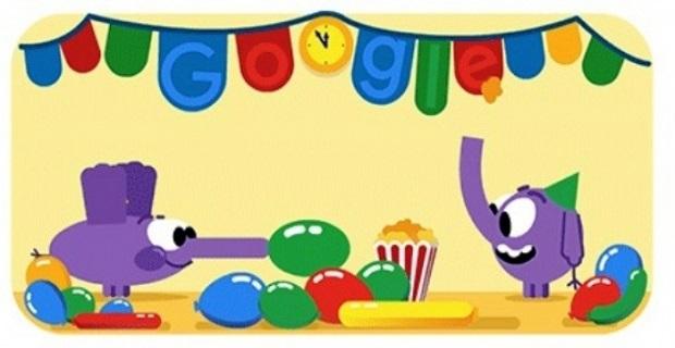 Google'dan yeni yılda doodle sürprizi