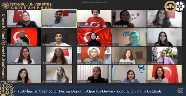 Türkiye'nin ilk E-Öğrenci Konferansı'nda Covid-19 konuşuldu
