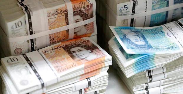 İngiliz ekonomisi 2020'de yüzde 9,8 daraldı