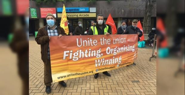 UNITE sendikası ve Daymer'den Londra'da çalışan işçilere yönelik sendikalaşma ve örgütlenme çalışması startı