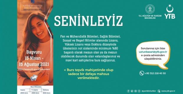 Yurtdışı Türkler ve Akraba Topluluklar Başkanlığı açıkladı ! Lisans, yüksek lisans ve doktora yapanlara burs