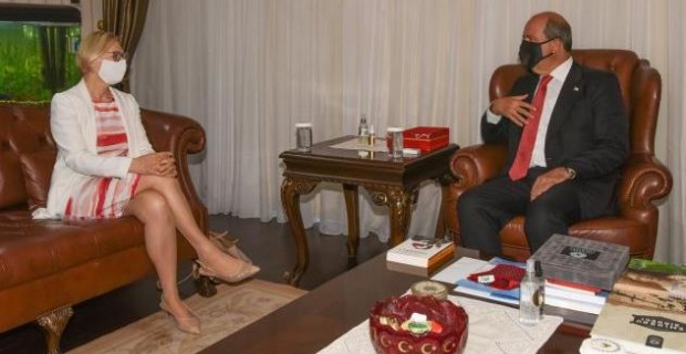 KKTC Cumhurbaşkanı Tatar konuştu, Uluslararası toplum Kıbrıs Türküne itibarını iade etmeli