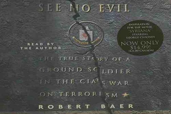 CIA Bölge şefinin kitabı 'See no evil'