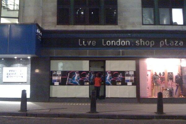 London's empty shops